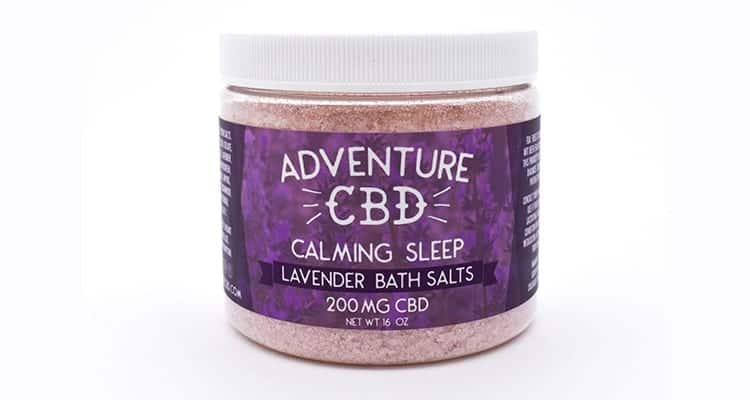 cbd bath salts lavender from adventure cbd. Can athletes take cbd? How do athletes use cbd?